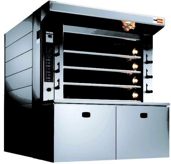 "Bassanina Steelheart™ ""Zoom"" Gas Deck Oven"
